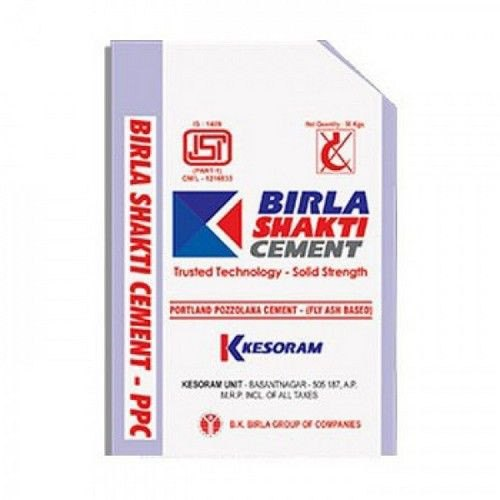 PPC (Pozzolana Portland Cement) Birla Shakti PPC Grade Cement, Packaging Size: 50 Kg, Packaging Type: PP Sack Bag