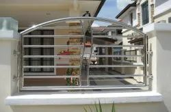 SS Compound Wall Grill
