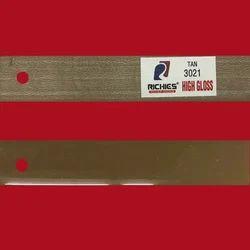 Tan High Gloss Edge Band Tape