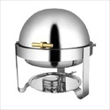 Silver Stainless Steel Food Warmer, Size: 5-10 L