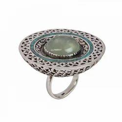 Semi Precious Gemstone Sterling Silver Ring