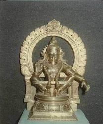 Swamy Ayyappan In Panchaloham 1 Foot