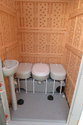 Portable Knocked Down All In One Toilet Cabin Rest Room For Camping, Outdoor, Event