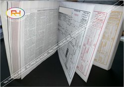 Paper Carbonless Book Printing Service in Delhi Ncr