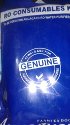 Aquaguard RO Filter Kit