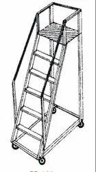 Alu.Trolley Step Ladder