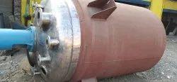 Used Stainless Steel Reactor
