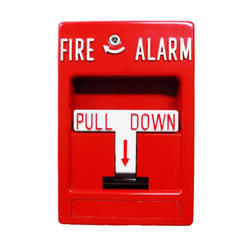 Red Pull Down Fire Alarm