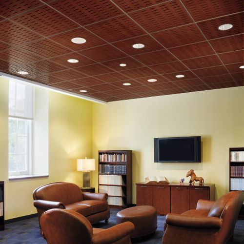 Armstrong Acoustic Ceiling Tile For Residential And