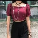 Ladies Designer Crop Top