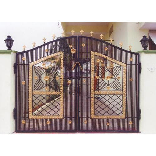 Home Design Gate Ideas: Compound Wall Gate At Rs 260 /square Feet