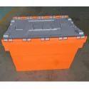 Orange Trolley Bin