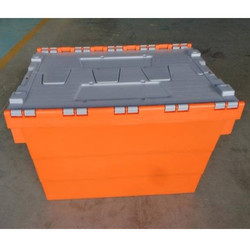 Orange Trolley Bin
