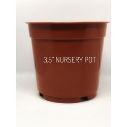 3.5 Inch Plastic Nursery Pot