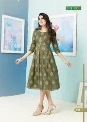 Ladies Designer Reyon Kurti