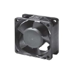 Plastic Motor Controller Cooling Fan, Size: 60x60x25 Mm, 24V