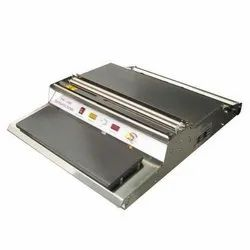 Stainless Steel Tray Cling Film Wrapping Machine