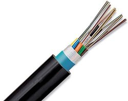 6 Fiber Multimode OFC Armoured Cable