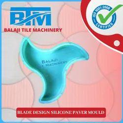 Blade Design Silicone Paver Mould