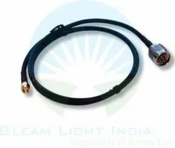 RF Cable Assemblies N Male to RP SMA Male in LMR 200