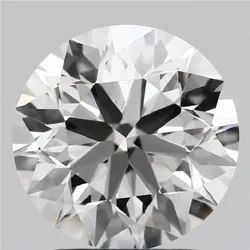 2.24ct Lab Grown Diamond CVD G VVS2 Round Brilliant Cut IGI Certified Stone