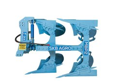 Blue SKB Reversible MB Plough