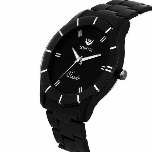 a619b00dbda1 Lorenz Black Dial Men s Analog Watch- MK-1072A at Rs 175 piece ...