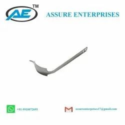 Ce Certified Curved Hohmann Retractor Stainless Steel Orthopedic Instrument