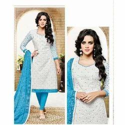 Ladies Cotton Fancy Suits