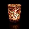 Multicolor Designer Votive T Light Candle Holder, Packaging Type: Box