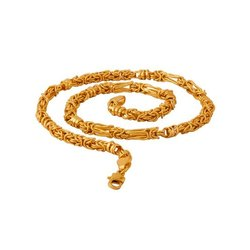 R K Jewellers Men Gold Chain