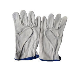 Free Size Leather Hand Gloves