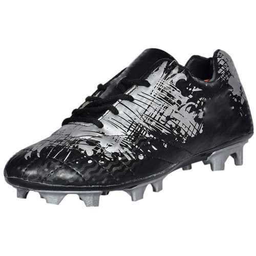 Grey Mens PU Sole Football Shoes