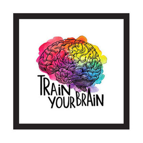 Train Your Brain Canvas Printing Service in Samgul Graphics ...