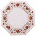 Handmade Pietre Dure Marble Inlay Table Tops