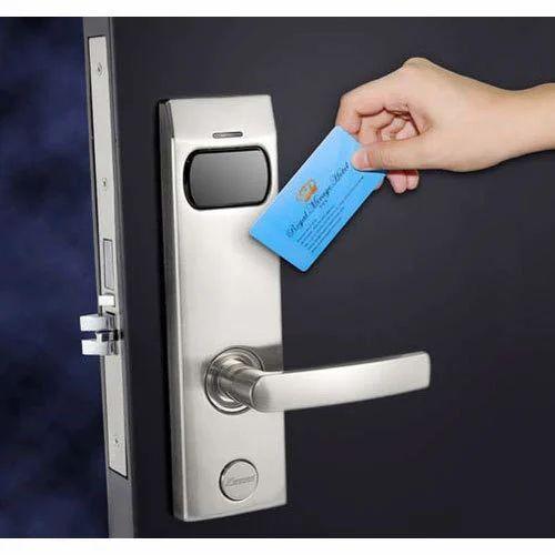 Aluminium Key Card Door Lock Rs 8000 Piece Vmsys It