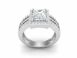 Bridal Silver Wedding Ring