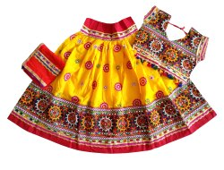 Kids - Garba Kutch Work Chaniya Choli