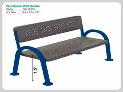 PARK BENCH WITH HANDLE