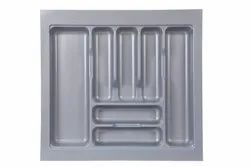 Kitchen Inner Drawer PVC Cutlery Tray