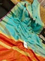 Ladies Tissue Linen Saree