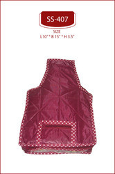 Parachute Maroon Quilted Blouse Cover