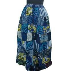 Ladies Patch Work Long Skirt