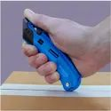 Self-Retracting Safety Cutter W/ Plastic Guards - EZ4