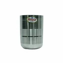 Royal D Line 2 Patta Indori Stainless Steel Glass