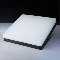 Warm White Ceramic LED Square Ceiling Light, IP Rating: IP33, for Outdoor
