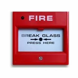 M S Body Red Fire Alarms, 45db