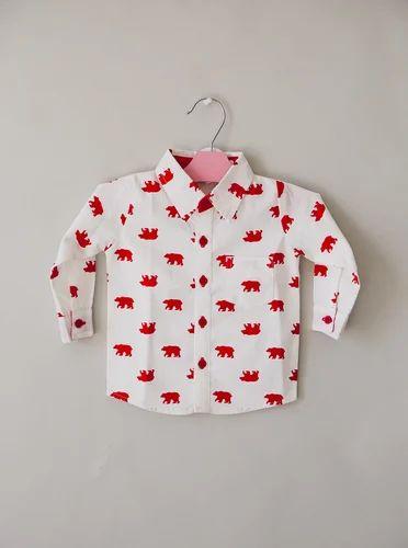 788e87b11cef Cotton Printed Baby Boy Shirts, Rs 400 /piece, VRSPL | ID: 14627144612