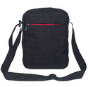 Black & Red Messenger Sling Bag for Men