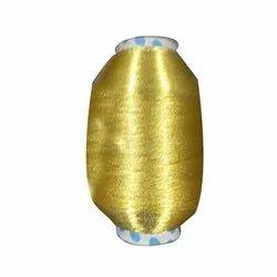Yellow Zari Yarn Thread